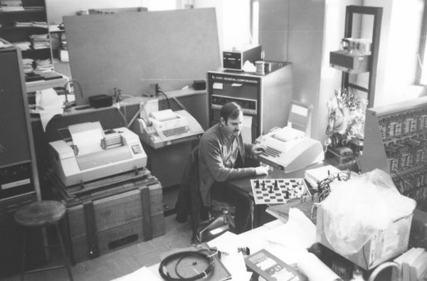 Ostrich chess program under development at Columbia University Computer Lab