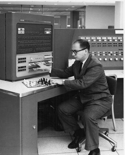 IBM programmer Alex Bernstein