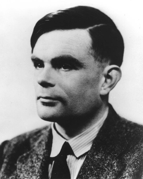 Computer pioneer Alan Turing