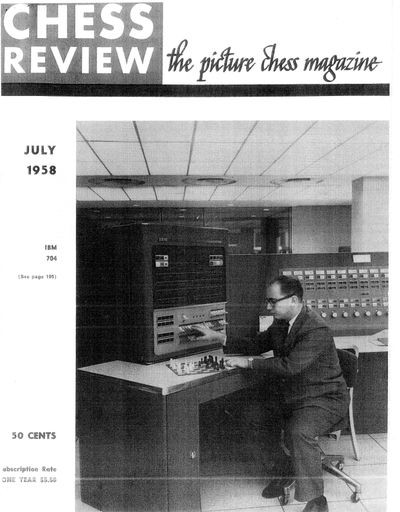 A Chess Playing Program for the IBM 704