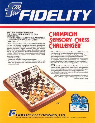Fidelity Electronics advertisement
