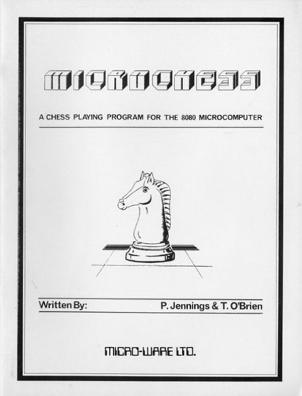 Microchess: A Chess playing program for the 8080 Microcomputer