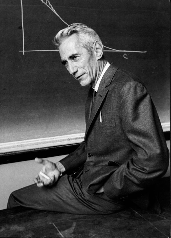 Mathematician Claude Shannon
