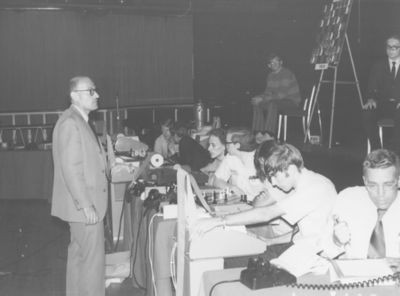 Mittman at 2nd ACM North American Computer Chess Championship in Chicago, Illinois