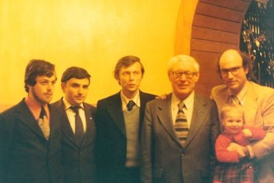 Monroe Newborn and Soviet computer chess developers in Moscow