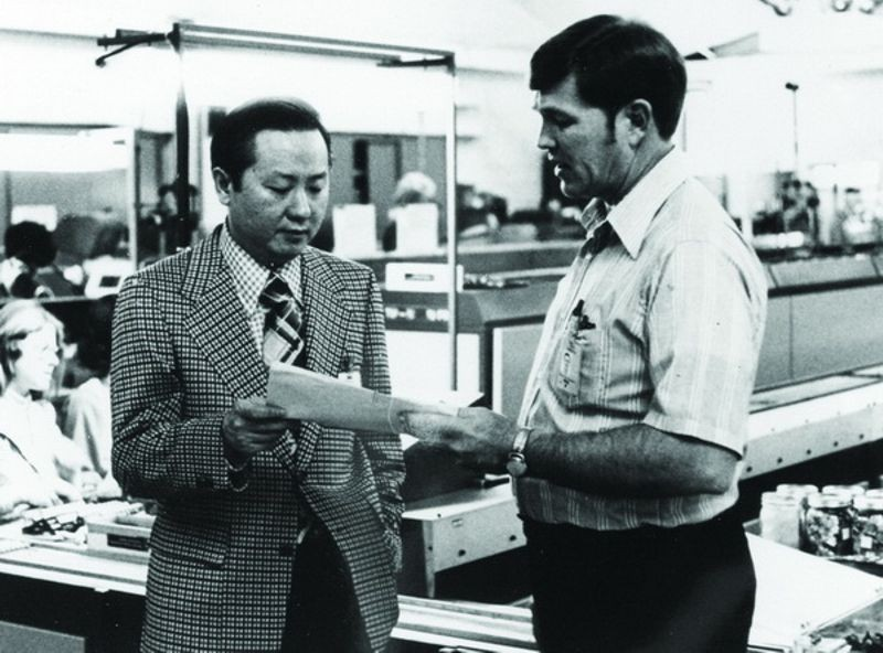 Morris Chang (left), ca. 1965