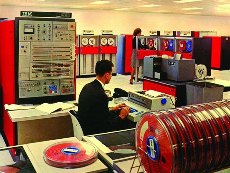 IBM System/360 Computer, 1965