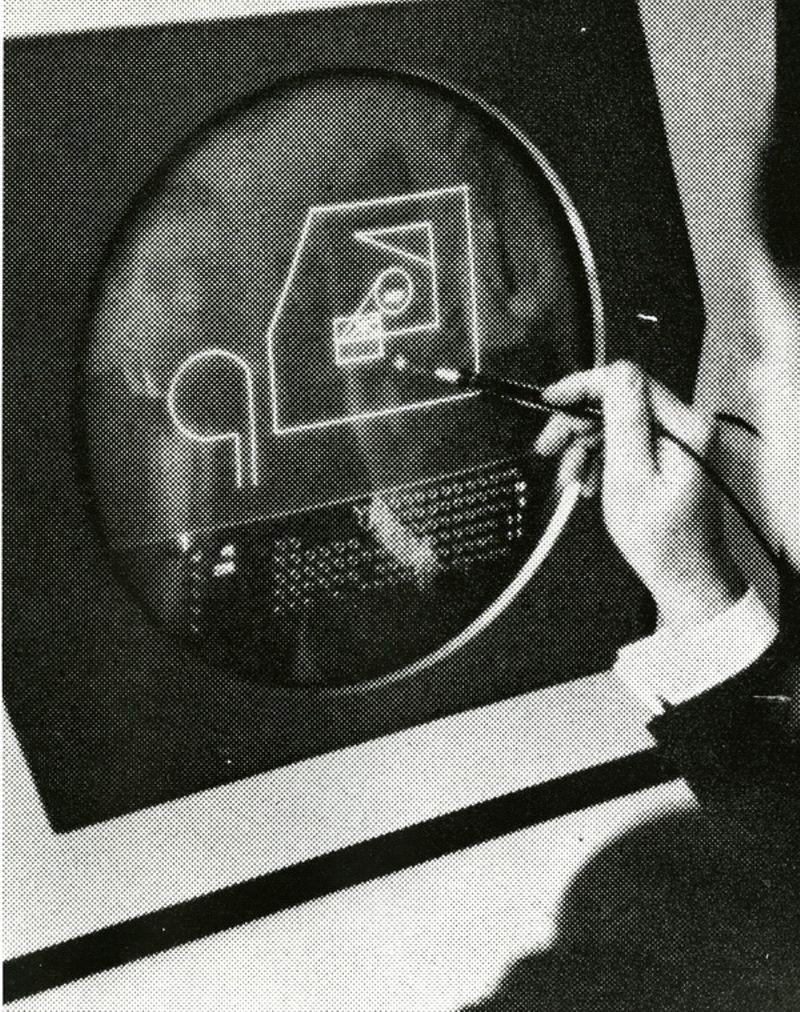 MIT Sketchpad program, ca. 1965