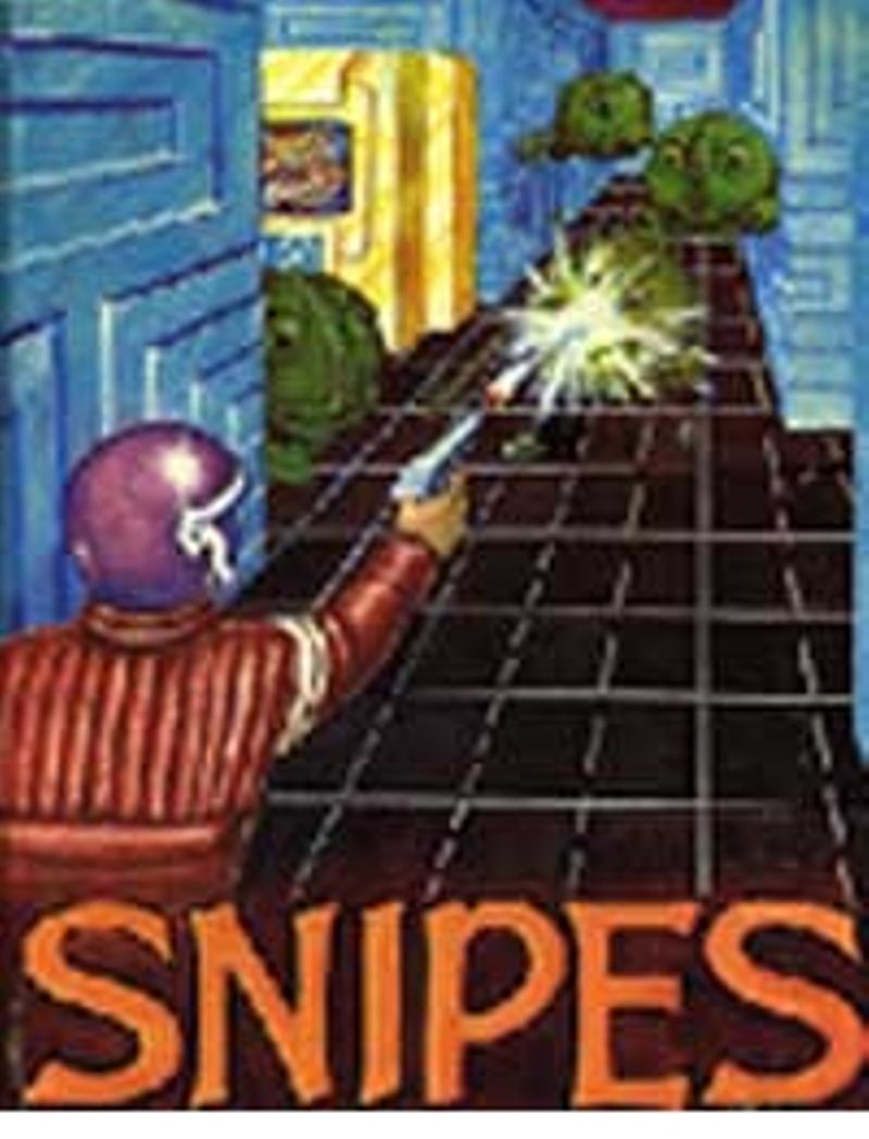 Cover from the manual for Snipes