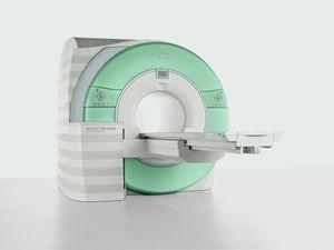 2015: Typical modern MRI machine