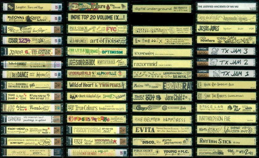 Mix tape library