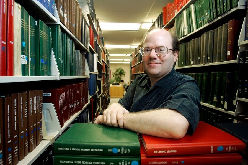 Larry Sanger, editor-in-chief of Nupedia and Wikipedia