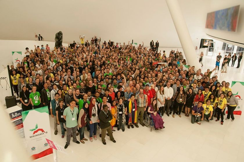 Wikimania 2015, Museo Soumaya, Mexico City