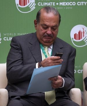 Carlos Slim, World Mayors' Summit on Climate, Mexico City, Mexico, November 21, 2010