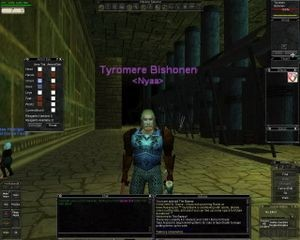 Screenshot of <em>EverQuest</em>, 1999
