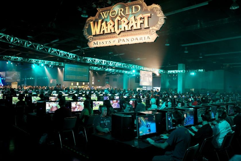 Group play at <em>BlizzCon</em>, October 21, 2011