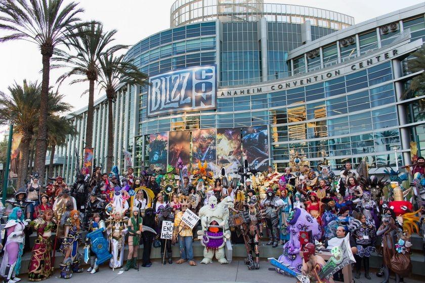 BlizzCon 2014, Day 1
