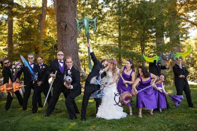 Crovo <em>Warcraft</em> Wedding, September 28, 2013