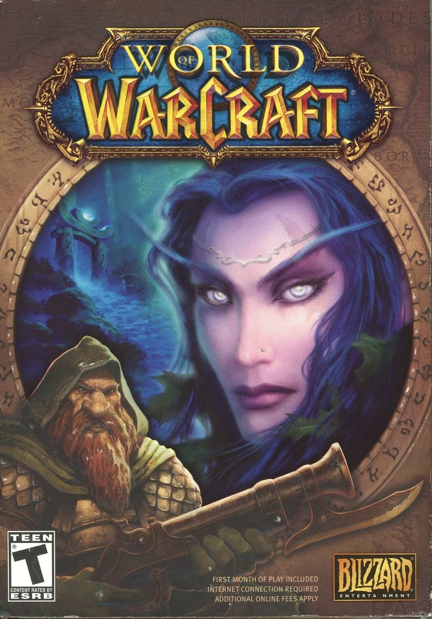 <em>World of Warcraft</em>, 2004.