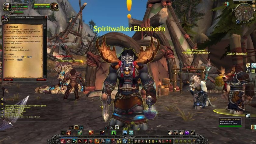 "Screenshot of ""Those Who Couldn't Be Saved,"" <em>WoW: Legion</em>, 2016"