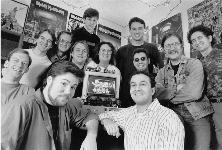Early Blizzard team (then known as Silicon & Synapse), ca. 1992
