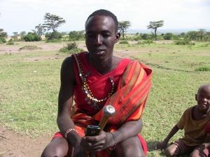 George Sekut, Maasai tribesman, Masai Mara, Kenya