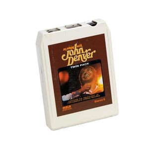 <em>An Evening with John Denver</em>, by John Denver, 8-track tape cartridge, 1975