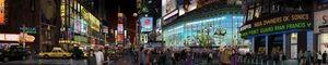 Bert Monroy, <em>Times Square</em>, 2011