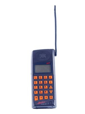 Ericsson NH97 NMT cell phone, Sweden, early 1990s