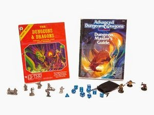 <em>Dungeons & Dragons</em> items, 1974–2016