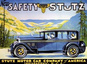 Stutz ad, 1925
