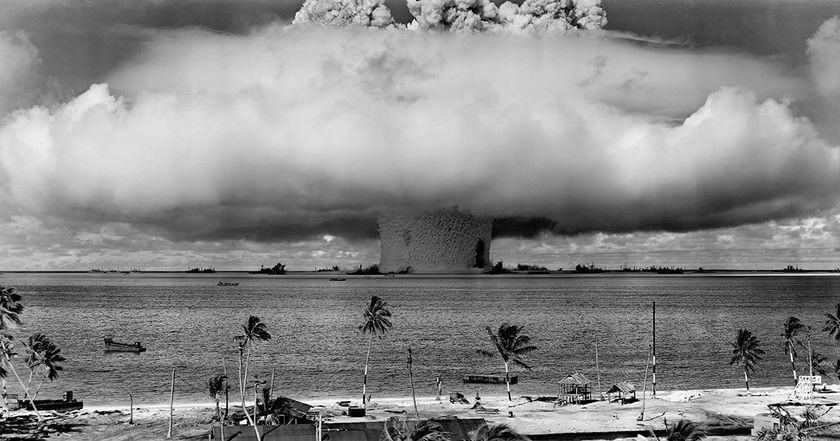 ABLE bomb test, part of Operation Crossroads, 1946