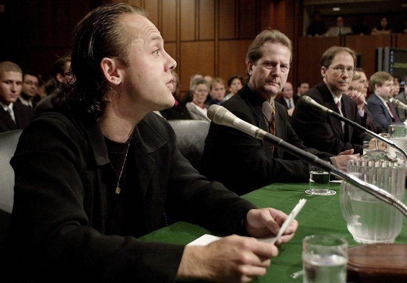 Metallica's Lars Ulrich, July 11, 2000