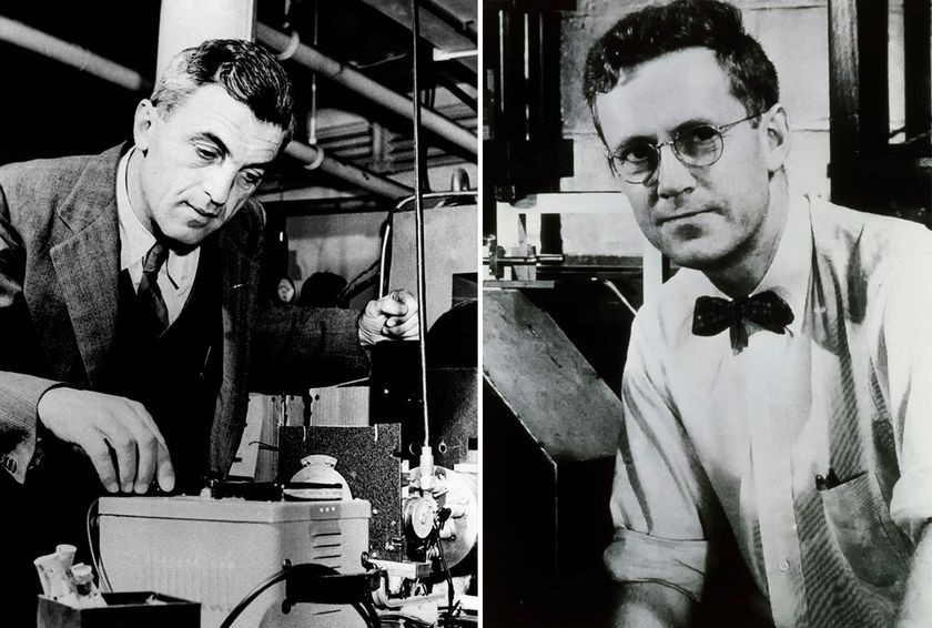 1940s: Felix Bloch (left) and Edward Purcell (right), 1952 Nobel Prize (shared)