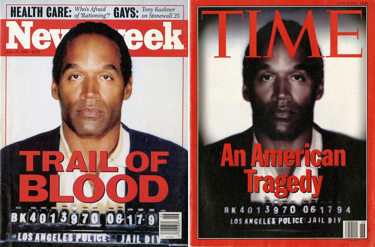 <em>Newsweek</em> and <em>Time</em> covers, June 27, 1994