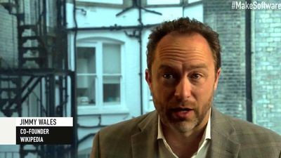 Jimmy Wales Video Poster