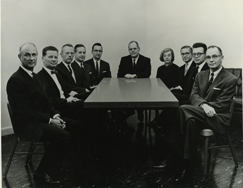 DEC's first Board of Directors