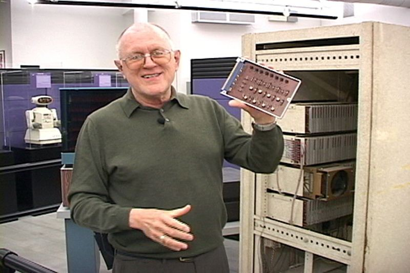 Gordon Bell and the PDP-1