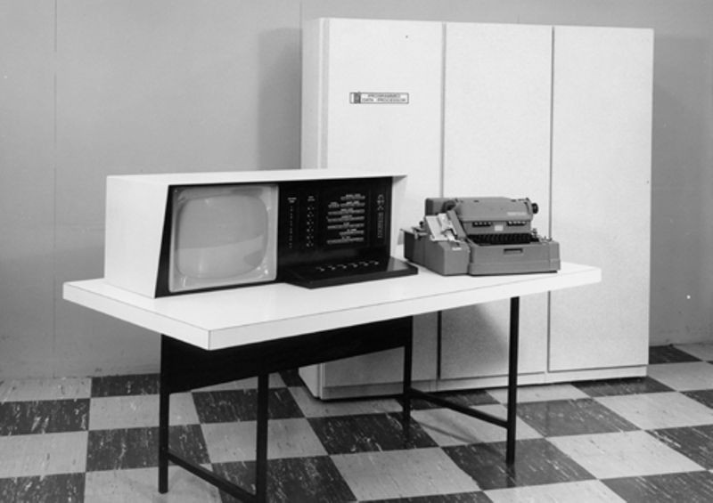 Early PDP-1 model