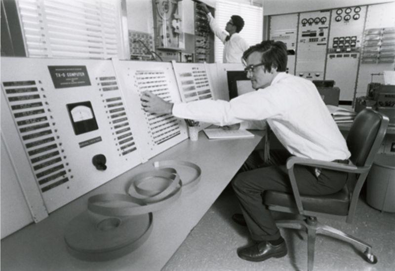 MIT TX-0 computer