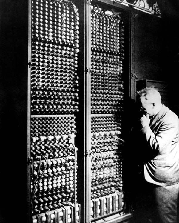 eniac What ford prefect had always found hardest to understand about humans was their habit of continually stating and repeating the very obvious.