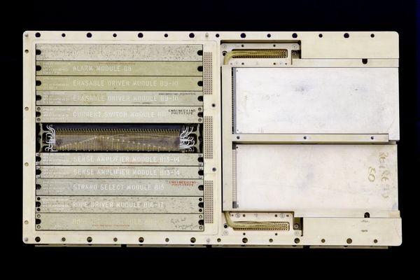 Apollo Guidance Computer logic module (prototype) - CHM Revolution