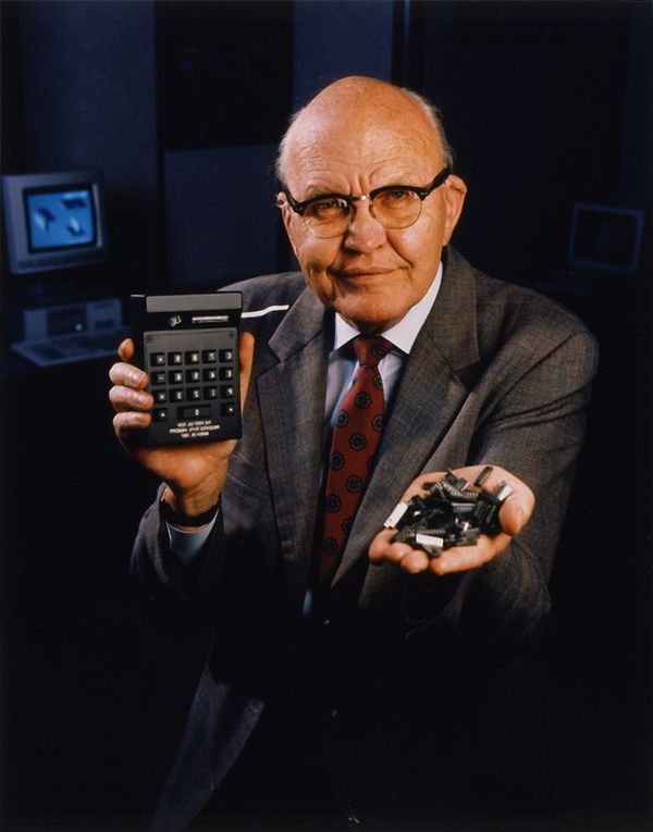 Texas Calculator Online >> Jack Kilby with the first palm-sized calculator - CHM Revolution