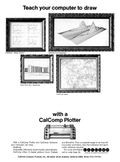 CalComp Plotter advertisement