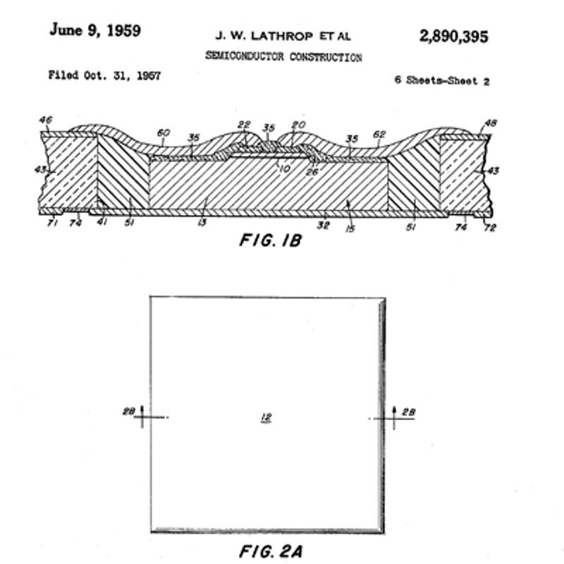 1955: Photolithography Techniques Are Used to Make Silicon