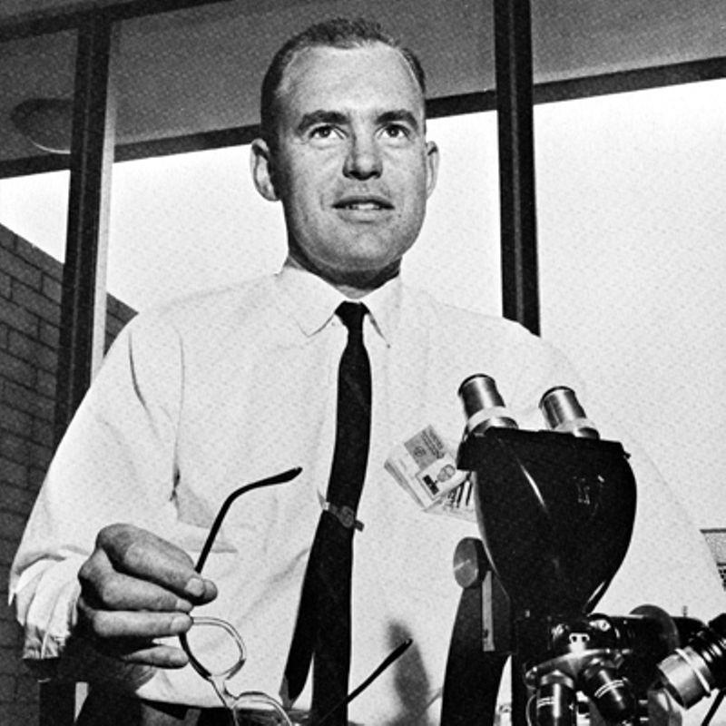 Gordon Moore At Fairchild R D In 1962