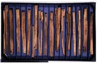 Split Wood Tally Sticks