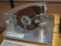 Notched-Disk Magnetic Memory Device (c.1951)