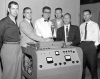 Ampex team & Emmy award (1957)