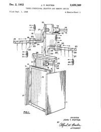 John Potter Three-dimensional selector and memory device patent figure